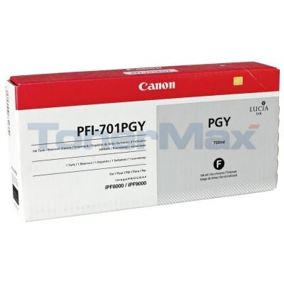CANON PFI-701PGY INK PHOTO GRAY 700ML